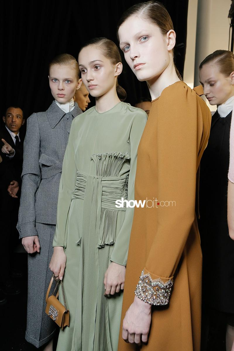 Rochas F17 Backstage Paris