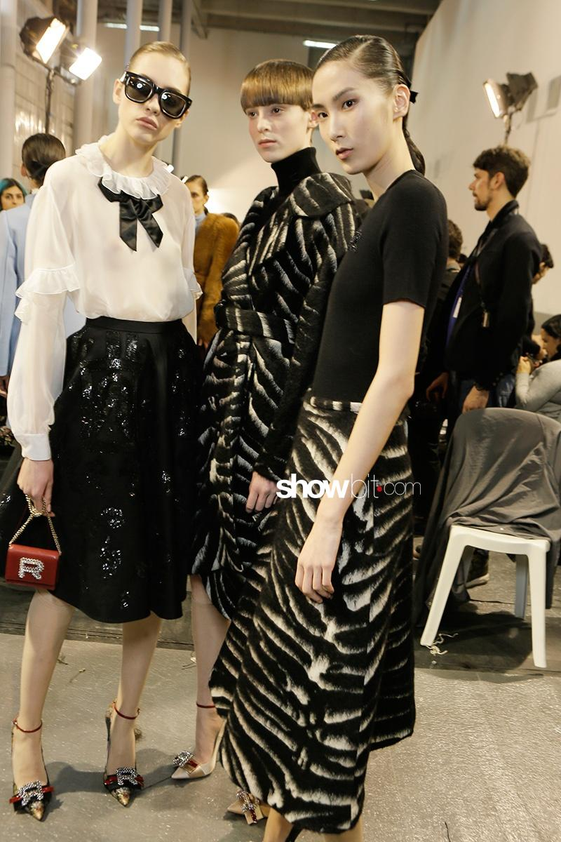 Rochas F17 Backstage Paris Fashion Week