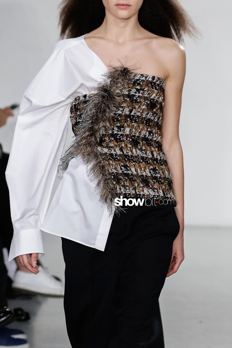 Balenciaga Fall 2017 Paris Asymmetry