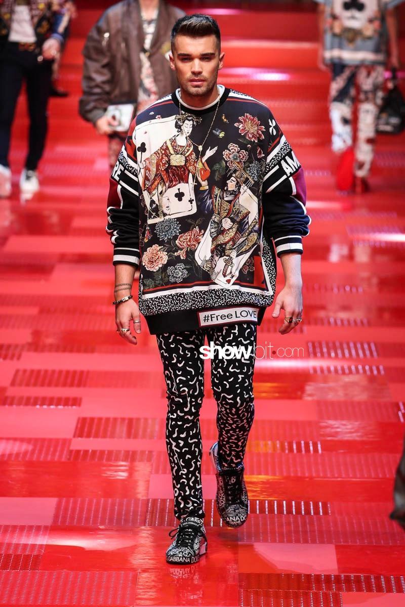 Dolce & Gabbana SS18 Menswear