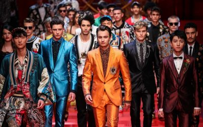 MMFW: Dolce & Gabbana Spring Summer 2018 Collection
