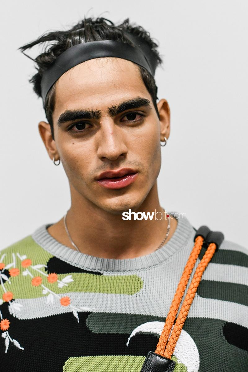 Emporio Armani Menswear Spring Summer 2018 Backstage