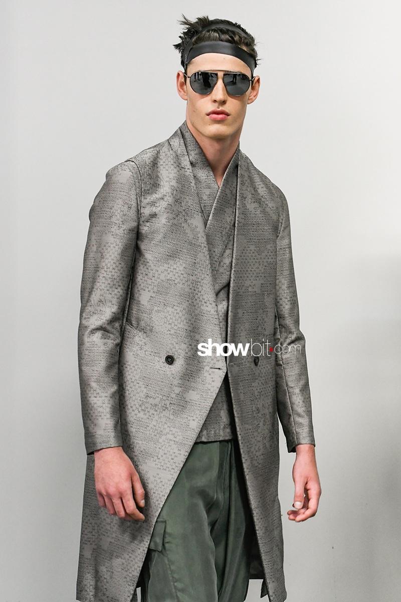 Emporio Armani Menswear SS18 Backstage