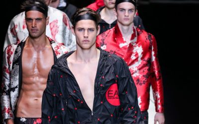 MMFW: Emporio Armani Spring Summer 2018 Collection