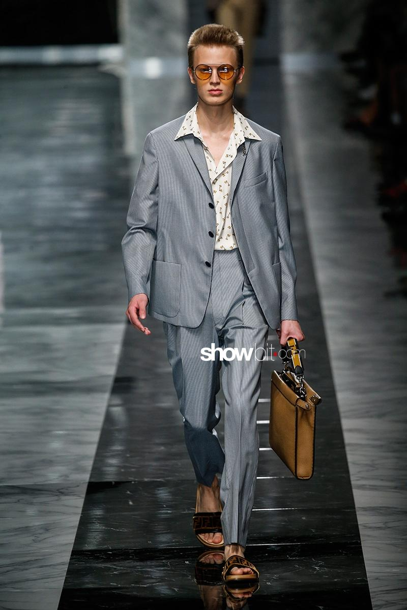 Fendi Spring 2018 Men's Collection
