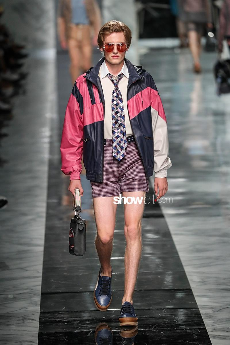 Fendi SS18 Men Collection