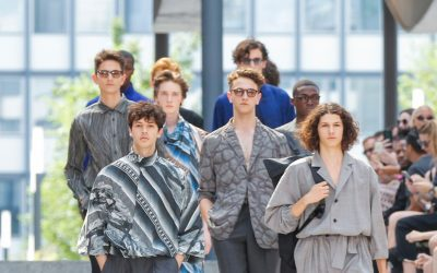PMFW: Issey Miyake Spring Summer 2018 Collection