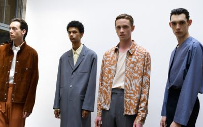 PMFW: Lemaire Spring Summer 2018 Menswear Backstage