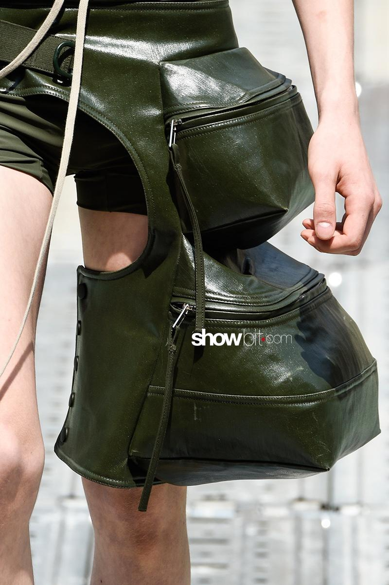 Rick Owens SS 2018 Men Accessories