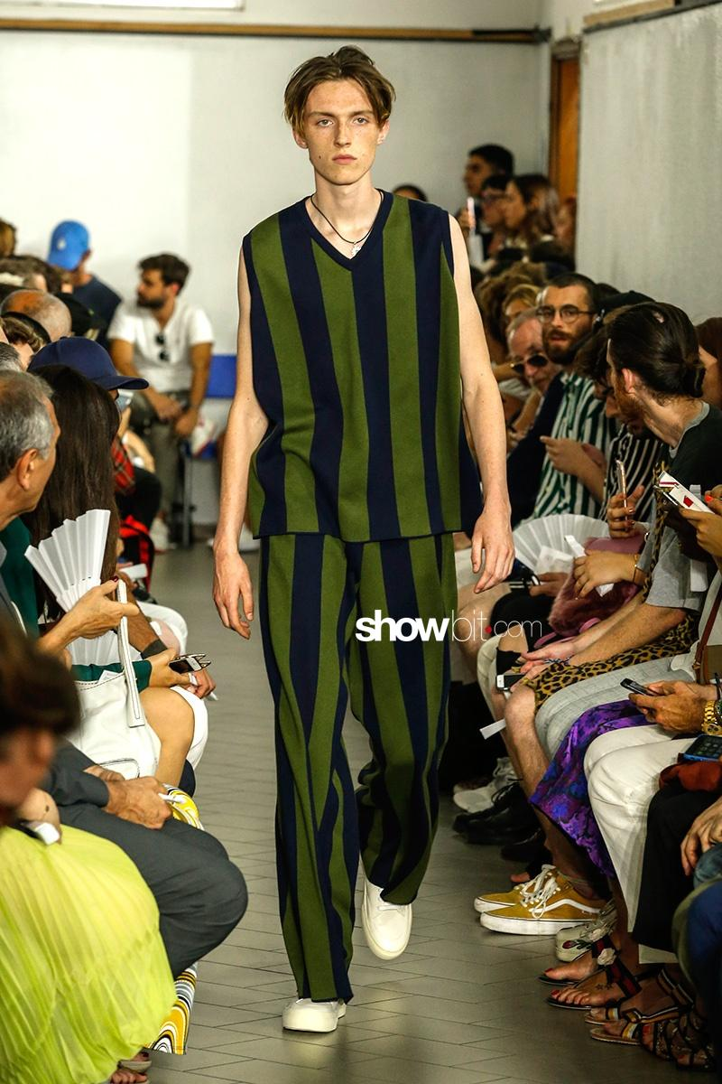 Sunnei Spring Summer 2018 Total Look Stripes