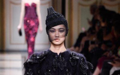 Paris Haute Couture: Armani Privé Fall Winter 2017 Collection