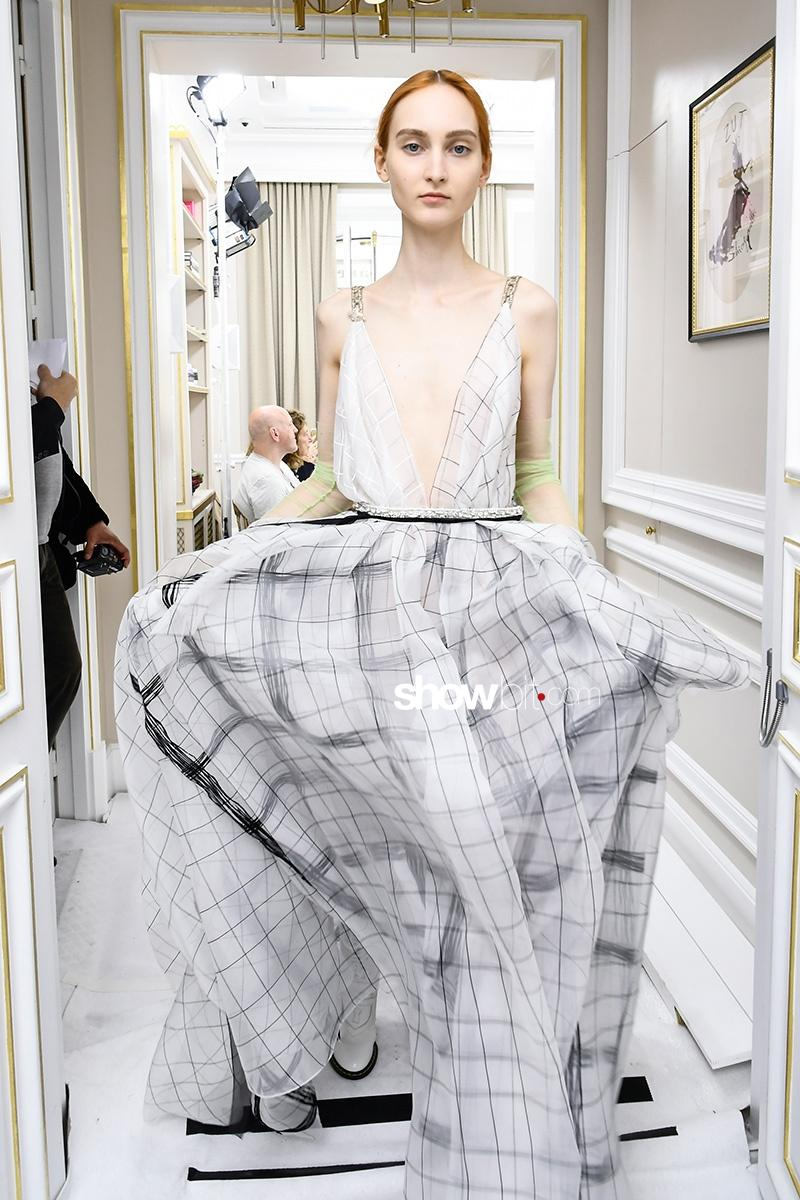 Schiaparelli FW17 Haute Couture Backstage
