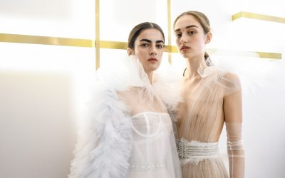 Paris Haute Couture: Schiaparelli Fall Winter 2017 Backstage