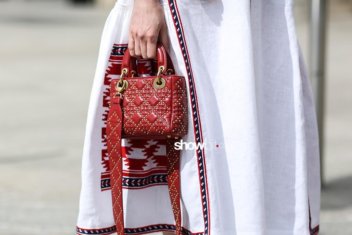 Schiaparelli Street Style Paris Couture