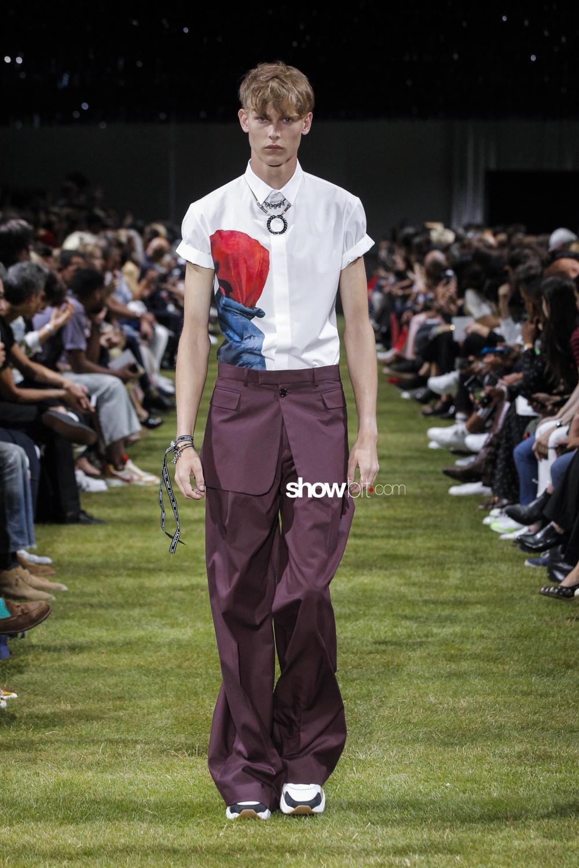 Dior Homme SS18 White Shirt