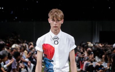 Menswear Spring Summer 2018 Collections New Trend: Re-interpreting the white shirt