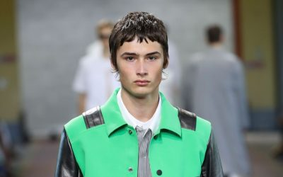 Menswear trend SS18: Green is the color for summer!
