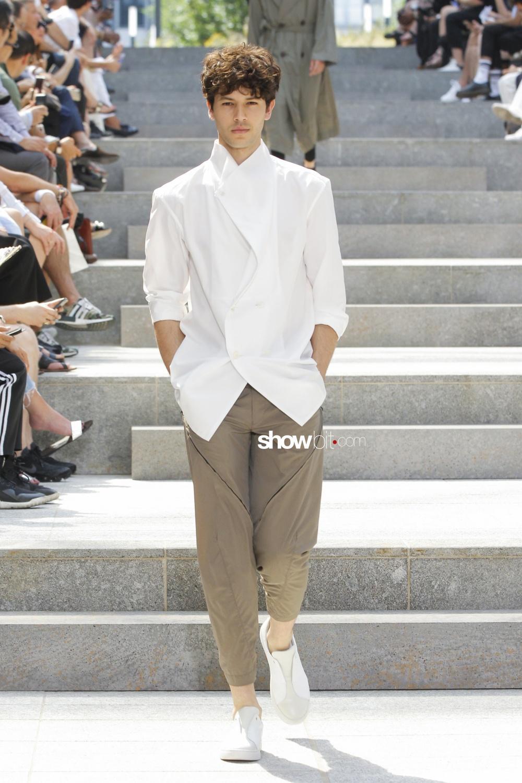 Issey Miyake Men SS18 White Shirt