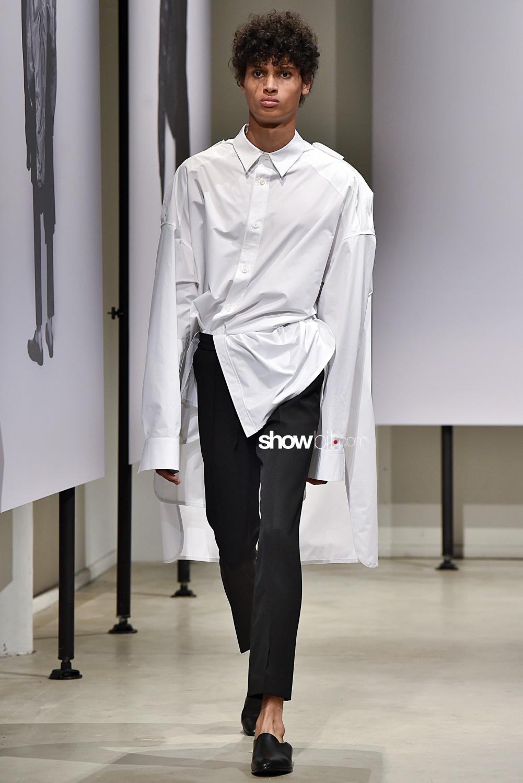 Juun J SS18 White Shirt