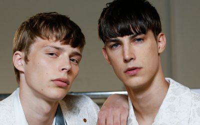 Milan Men's Fashion Week: the backstage of Sulvam Spring Summer 2018 Fashion Show