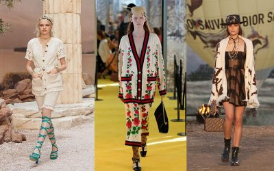 Resort 2018 Collections Fashion Trend: Cardigan, the it item for the next year