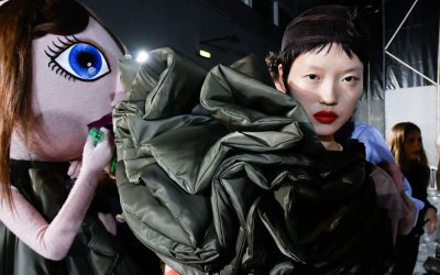 Viktor & Rolf Haute Couture Fall Winter 2017 Collection: All the shots from the backstage