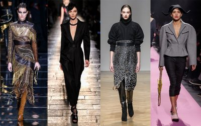 Womenswear Fall Winter 2017 Collections: High waist and feminine silhouettes on the runways