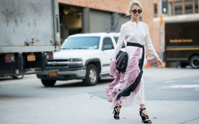 The first Street Style shots from New York Fashion Week