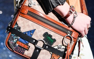 New York Fashion Week: Glitters and Graffiti, Coach's Accessories for the Spring Summer 2018