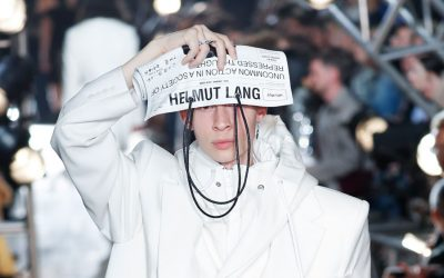 New York Fashion Week Spring Summer 2018: Helmut Lang designed by Shayne Oliver