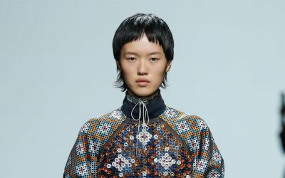 London Fashion Week Spring Summer 2018: Mary Katrantzou and her 80s memories