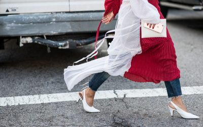 In her shoes: from New York Fashion Week SS18 the best shots at street level