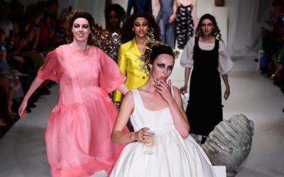 London Fashion Week Spring Summer 2018: Molly Goddard's idea of everyday partying