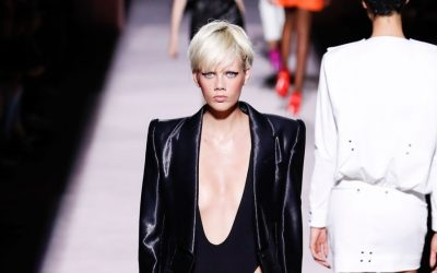 New York Fashion Week: Tom Ford's Women Spring Summer 2018 Collection
