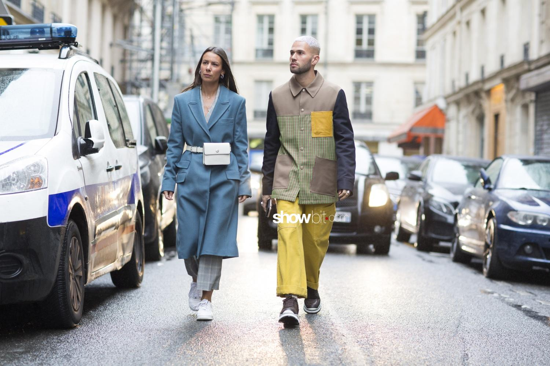 Avoc man fall 2018 paris street style