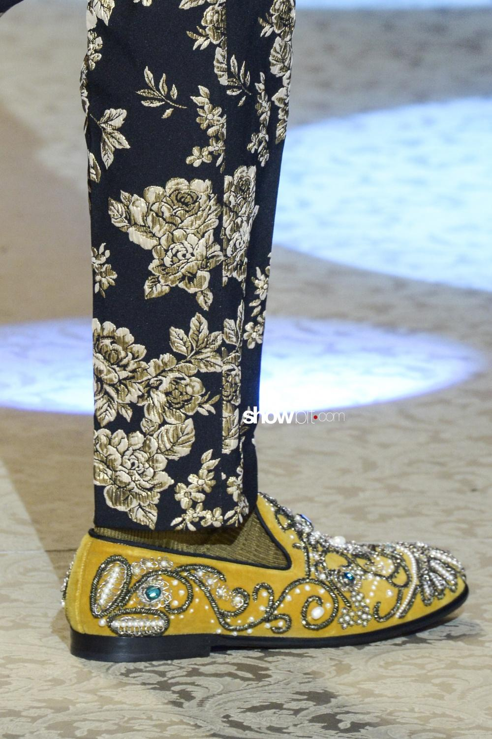 Dolce & Gabbana shoes man Fall 2018 Milano