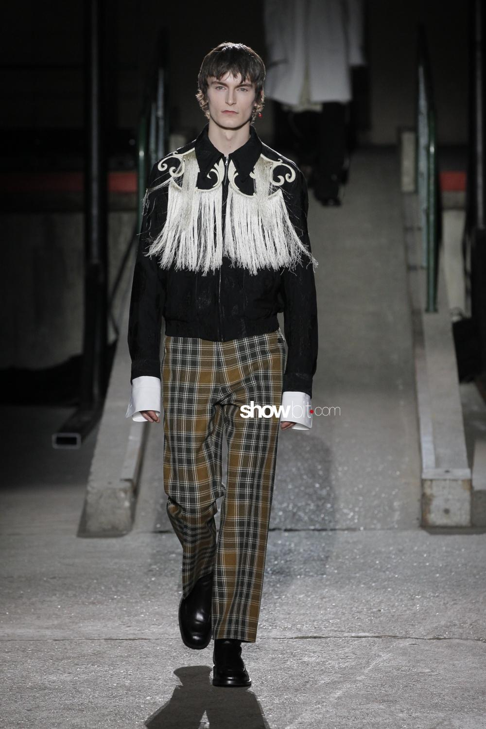 Dries Van Noten fall winter 2018 man paris