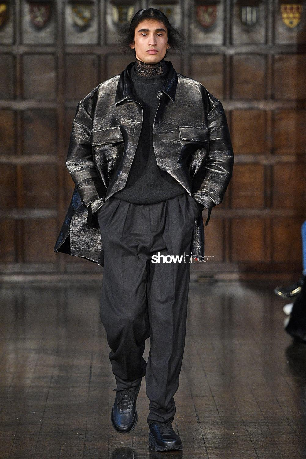 Edward Crutchley london men fall winter 2018
