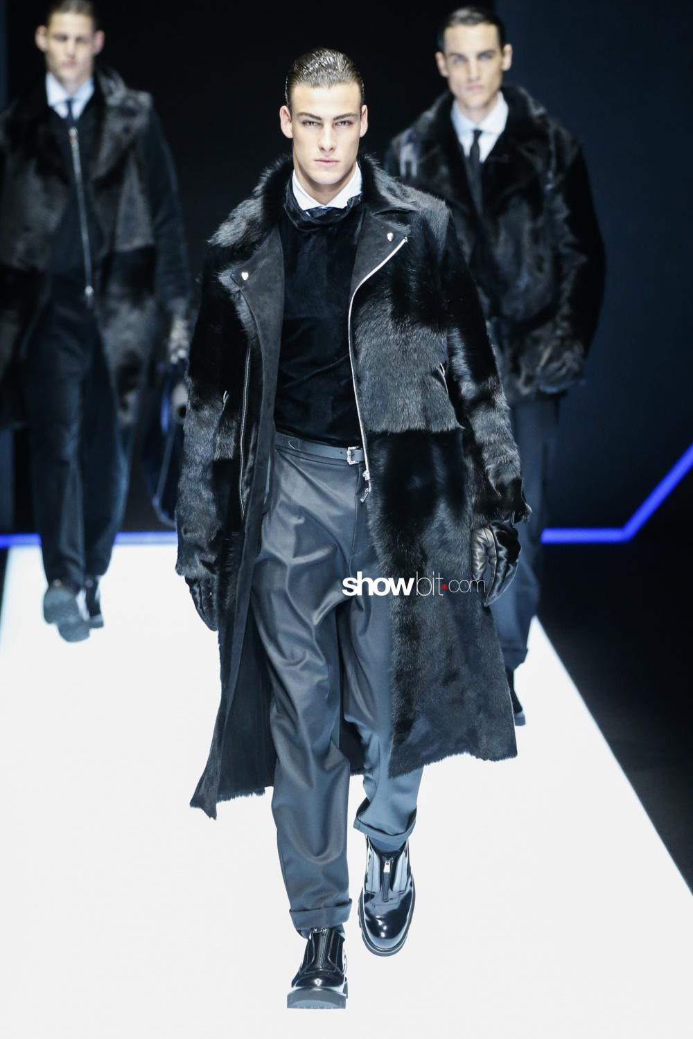 Emporio Armani fall winter 2018 men