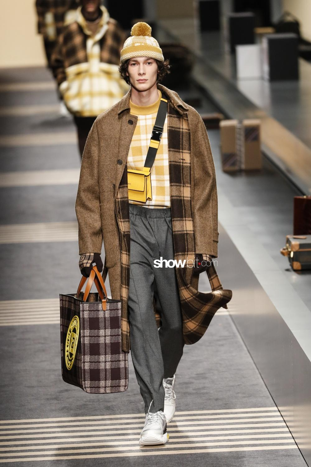 Fendi milano fall winter 2018 man