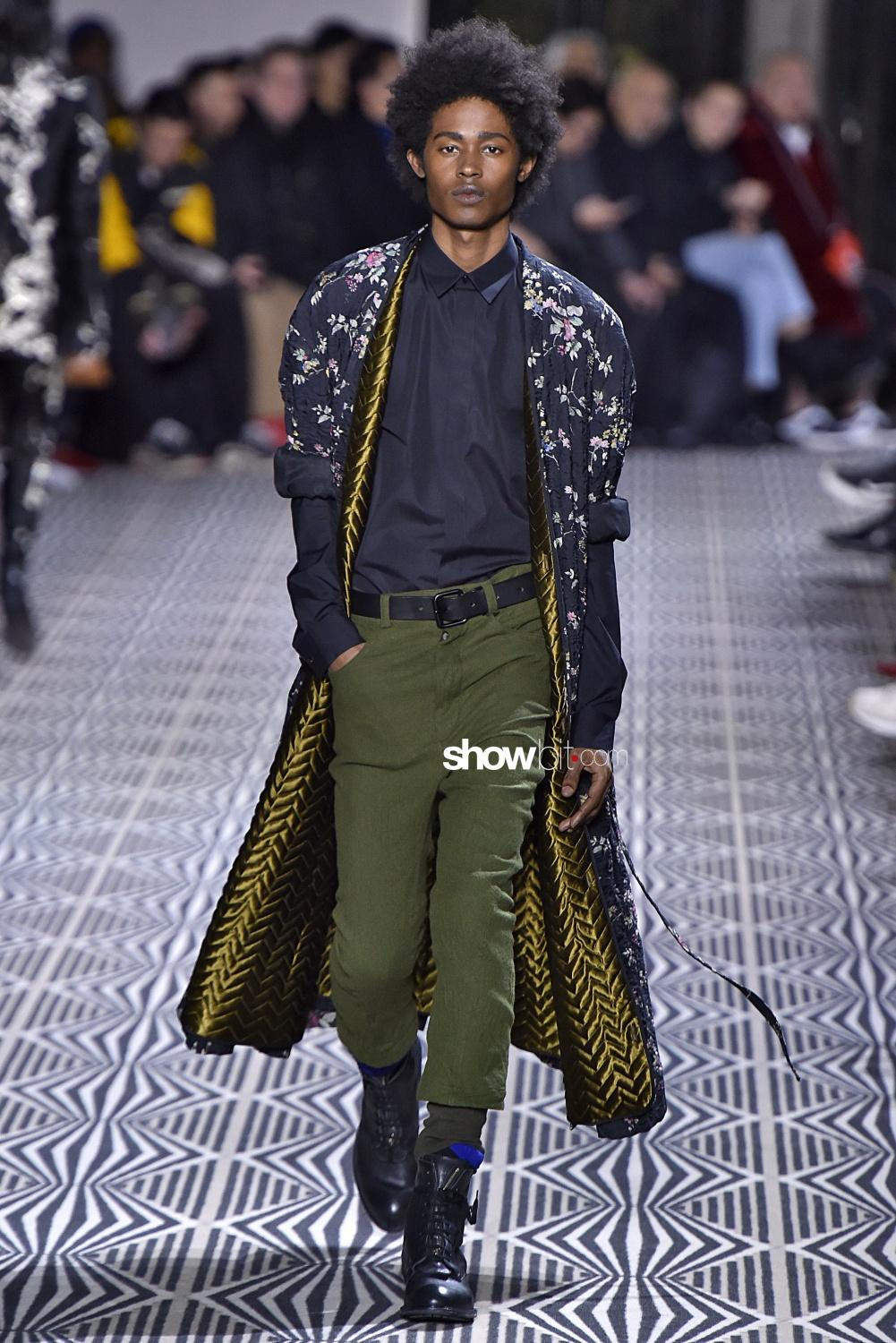 Haider Ackermann fall winter 2018 paris men
