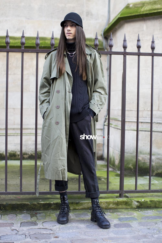 Icosae man fall 2018 paris street style