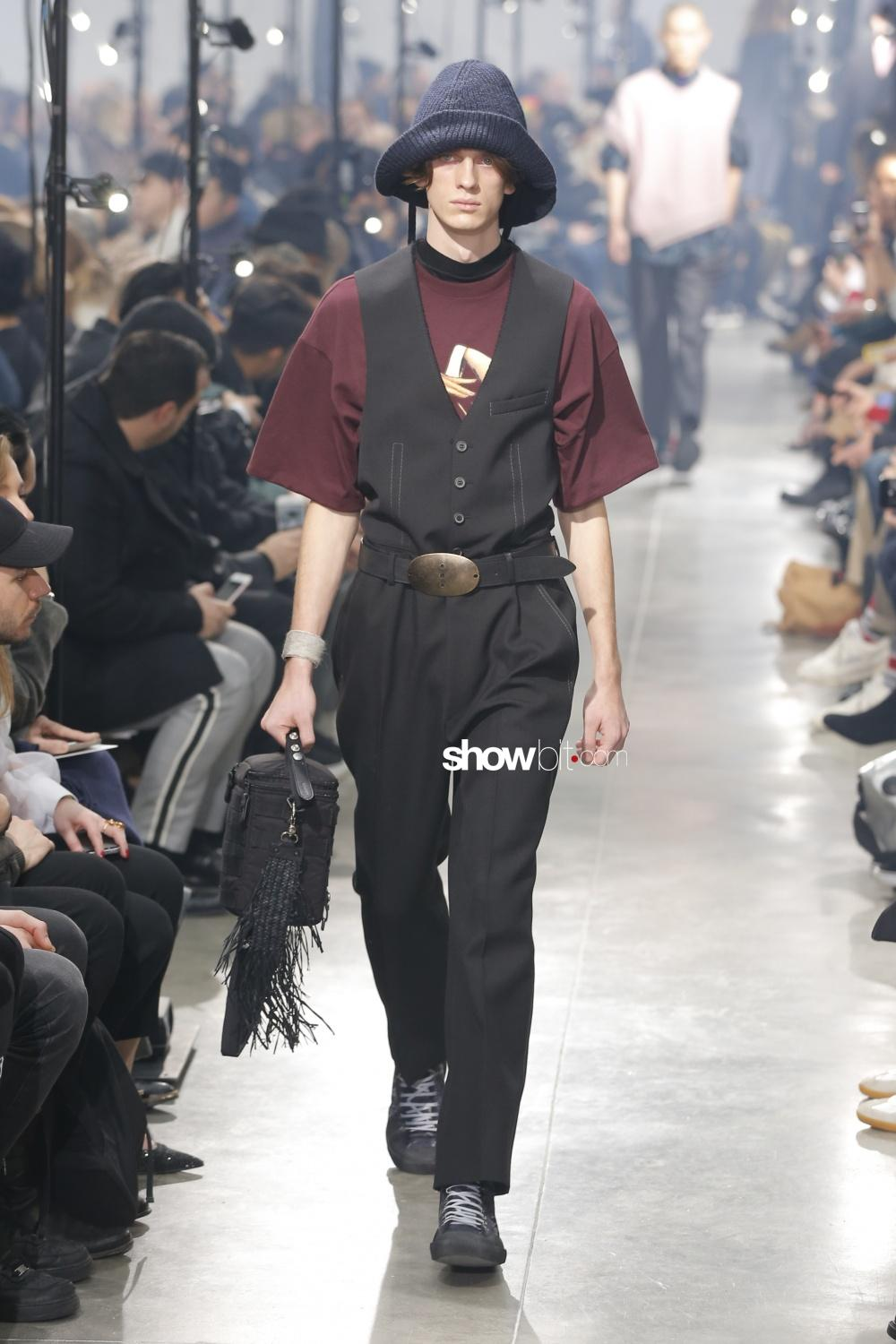 Lanvin paris man fall winter 2018