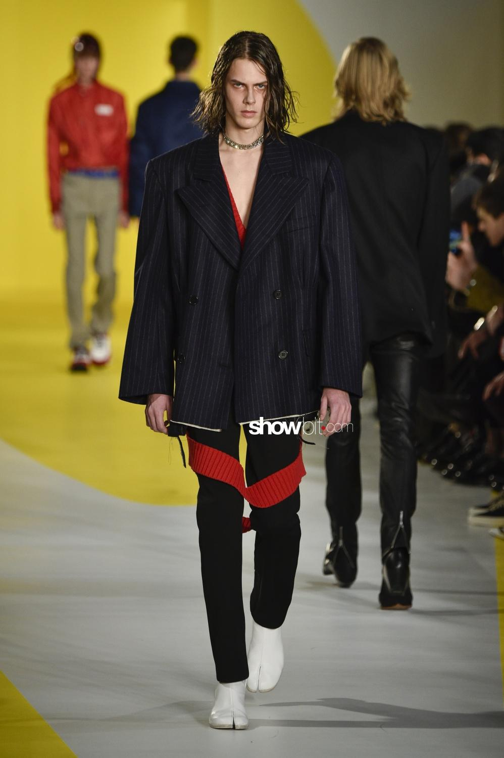 Maison Margiela men paris fall winter 2018 2019
