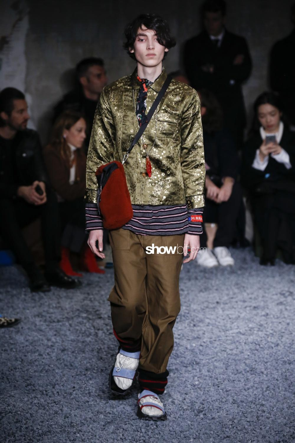 Marni Milano Men Fall Winter 2018