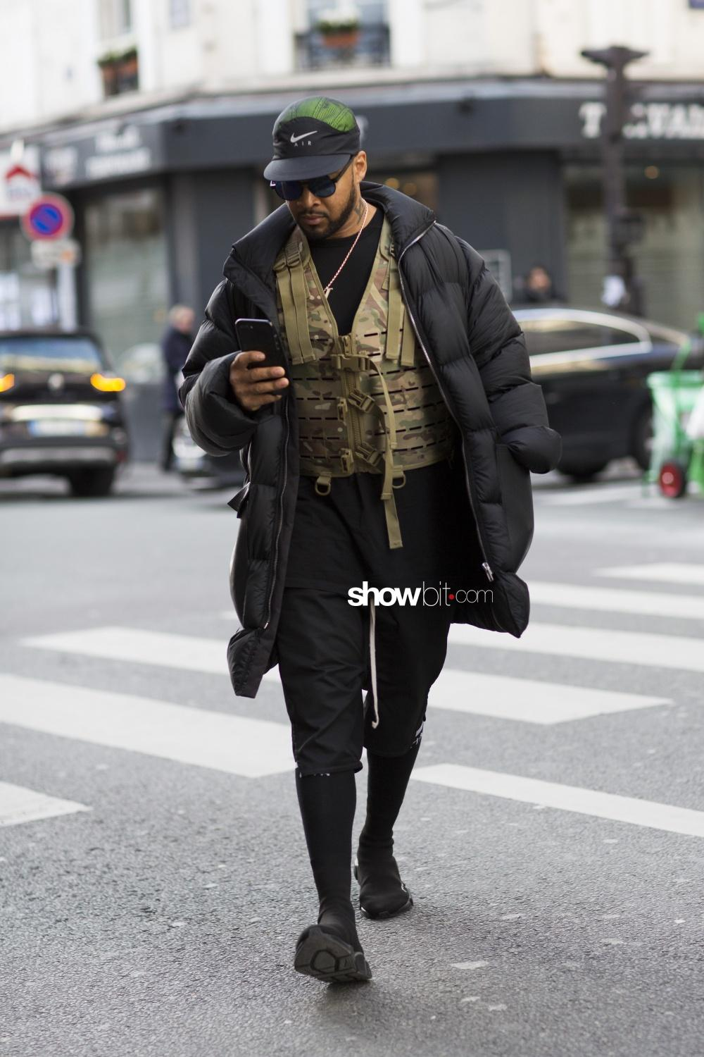 Y Project man fall 2018 paris street style