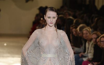 Paris Haute Couture Week S18: Iris Van Herpen's play of nature