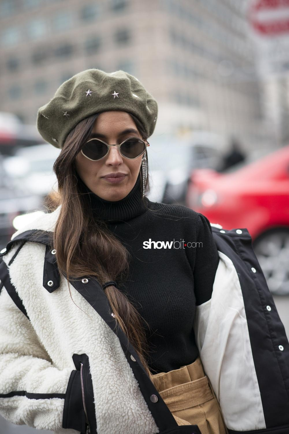 Brock Collection people street style Women Fall Winter 2018 New York