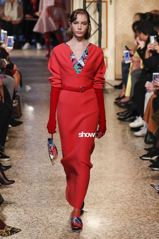 Emilio Pucci Woman Fall 2018 Milano