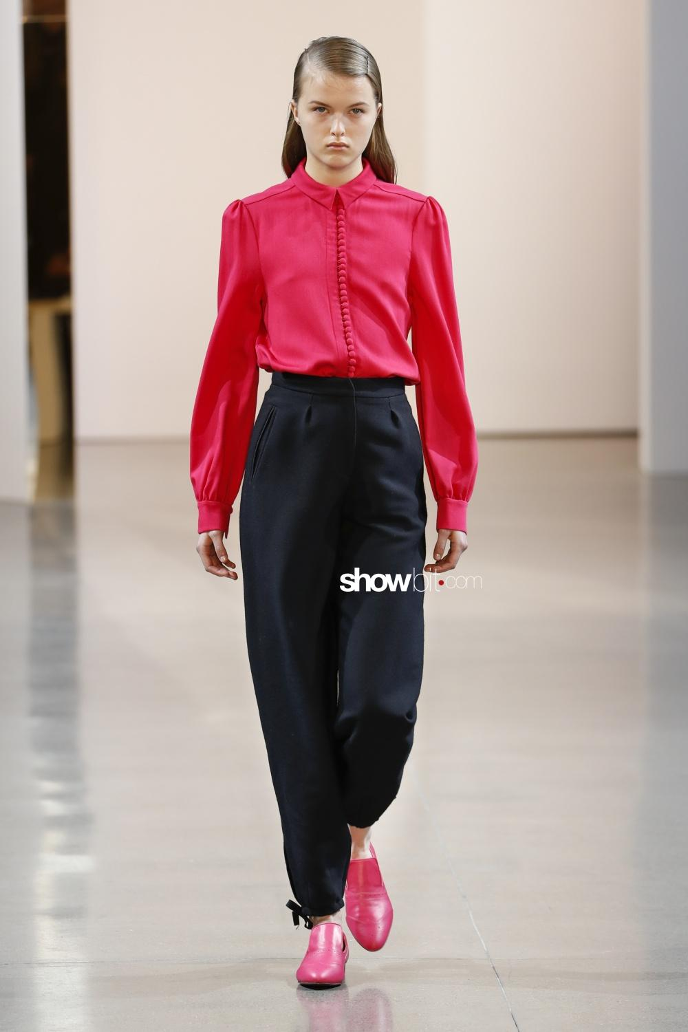 Noon by Noor woman Fall Winter 2018 New York
